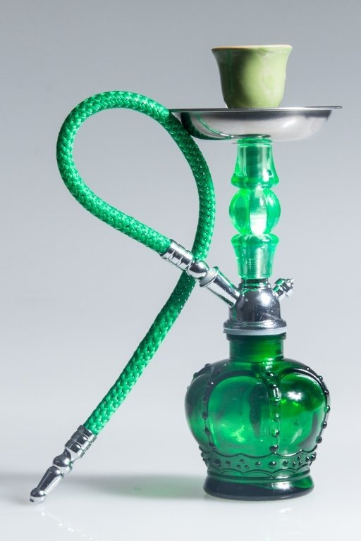 FAJKA SHISHA CROWN SMALL GREEN