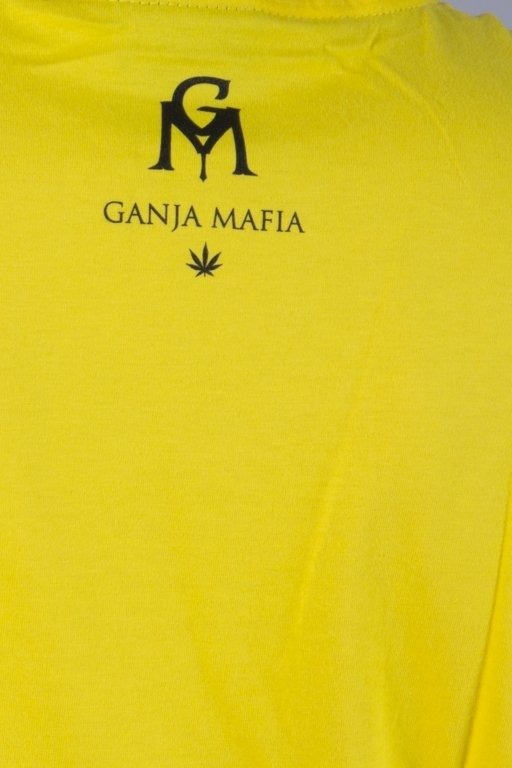 GANJA MAFIA KOSZULKA GM COLORS YELLOW