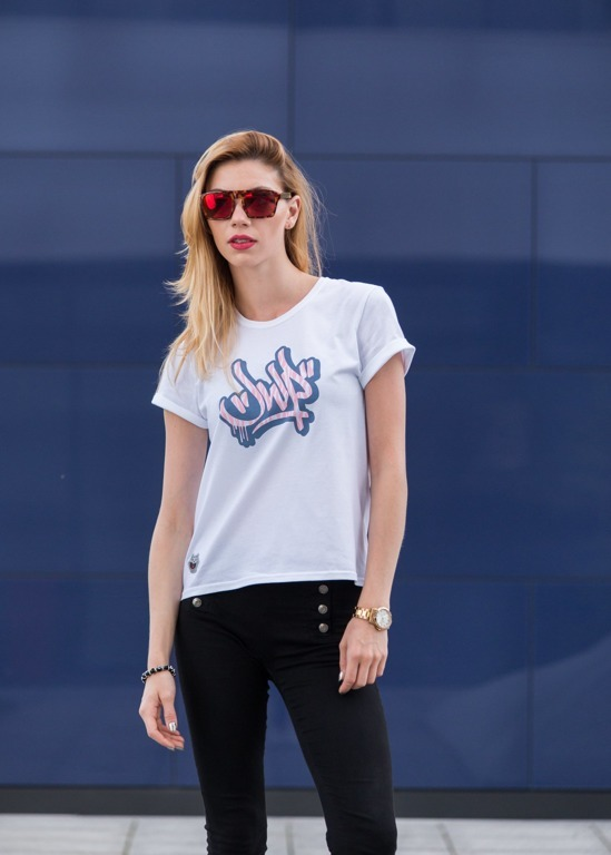 JWP T-SHIRT GIRL JWPKA WHITE