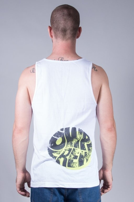 JWP TANK TOP TRASH WHITE