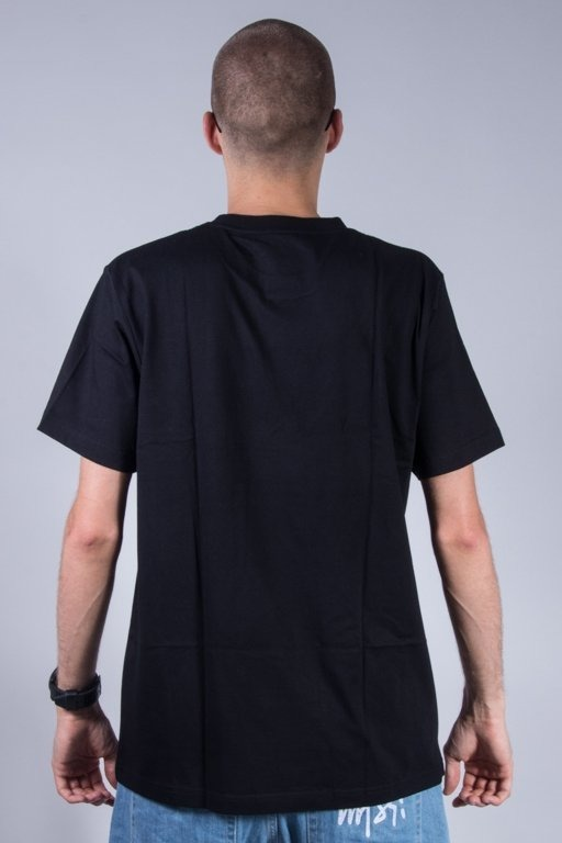 KOKA T-SHIRT BLURRY LAUREL BLACK