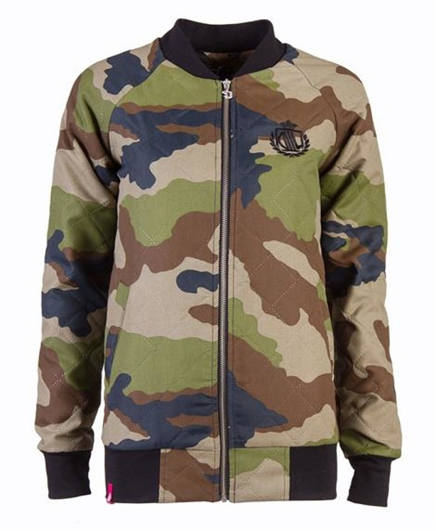 LADY DIIL JACKET BASEBALL CAMO