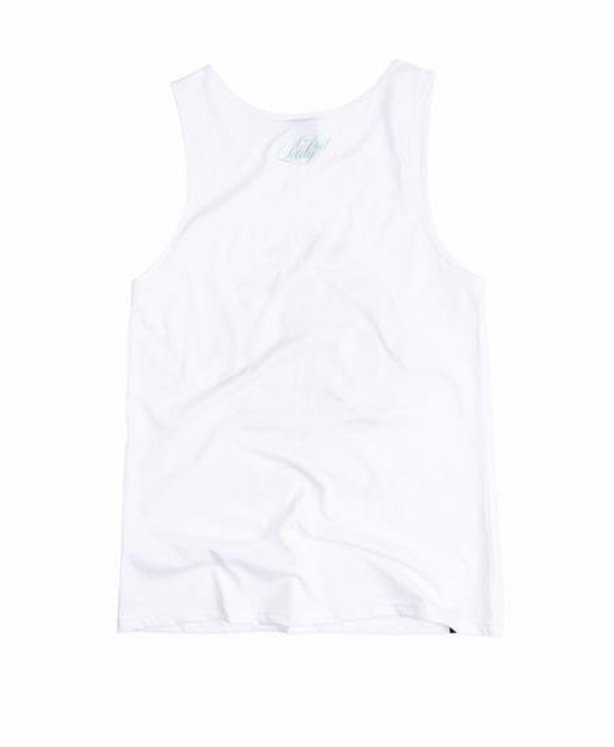 LADY DIIL TANK TOP LAUR WHITE-FLOWER