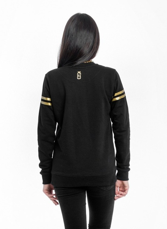 LUCKY DICE BLUZA DAMSKA NEW BLACK-GOLD