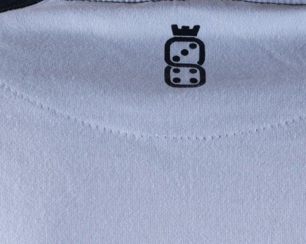 LUCKY DICE LONGSLEEVE LDC WHITE-BLACK