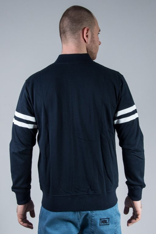MAJESTIC BLUZA ROPER FLEECE LATTERMAN NY NAVY