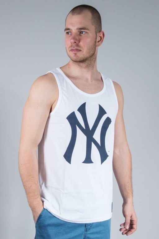 MAJESTIC TANK TOP LIMNER JERSEY YANKEES WHITE