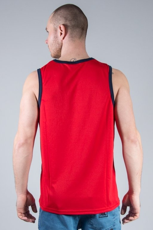 MAJESTIC TANK TOP RENFEW POLYESTER YANKEES RED