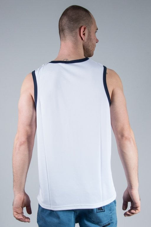 MAJESTIC TANK TOP RENFEW POLYESTER YANKEES WHITE