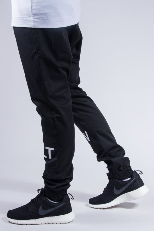 MAJORS PANTS CHINO JOGGER REVOLT M BLACK