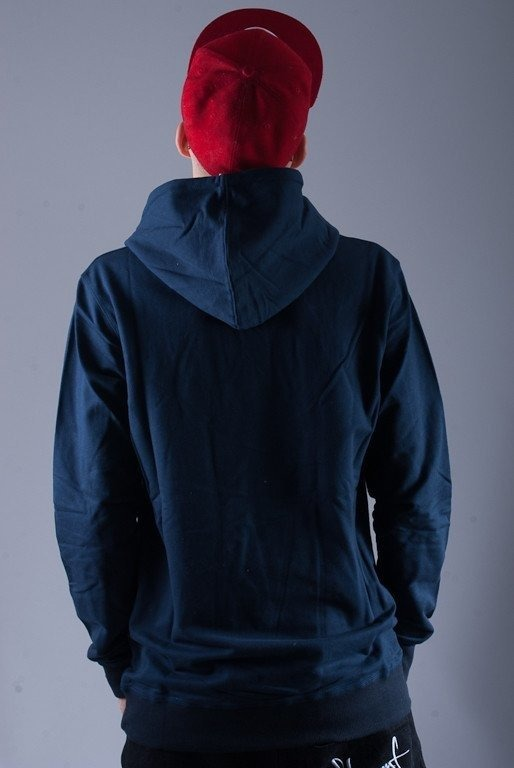 MALITA BLUZA Z KAPTUREM HOOD POCKET NAVY BLUE