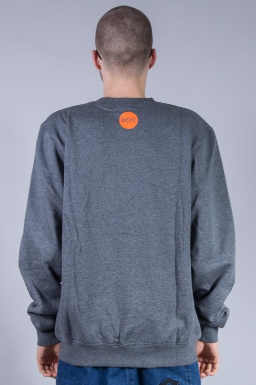 MASS BLUZA BEZ KAPTURA SIGNATURE GREY