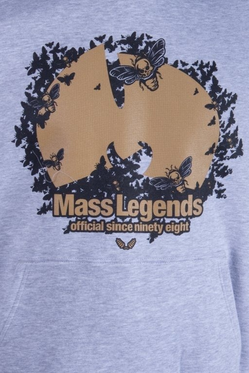 MASS BLUZA Z KAPTUREM LEGENDS MELANGE
