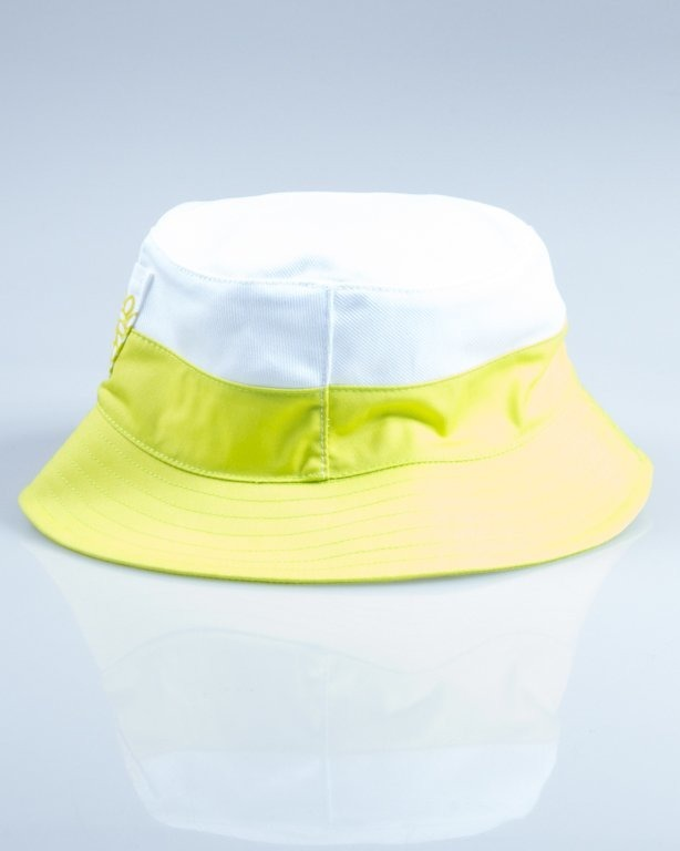 MASS BUCKET HAT POCKET BASE WHITE-GREEN