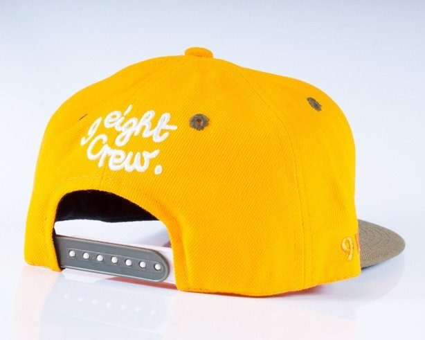 MASS CZAPKA SNAPBACK HUNTER YELLOW