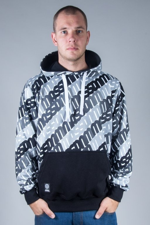MASS HOODIE MULTIPLY BLACK