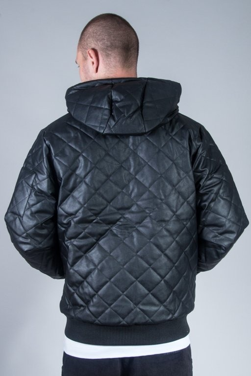 MASS JACKET FLYER QUILTED BLACK