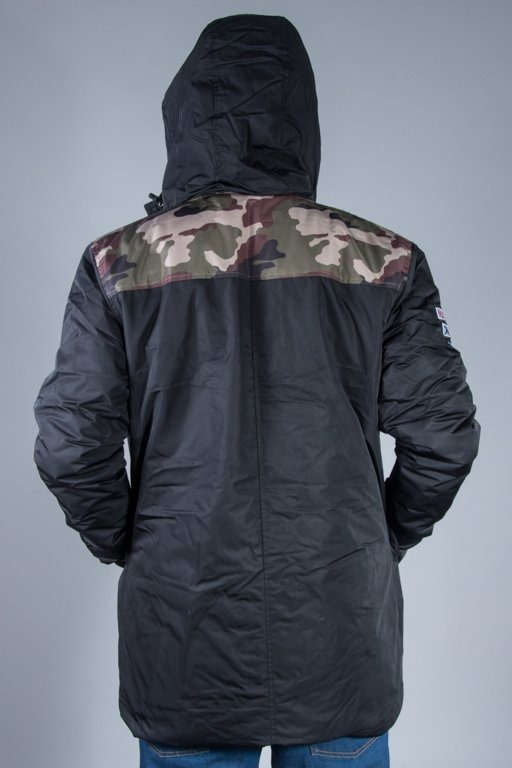 MASS JACKET PARKA CONVERSION BLACK-CAMO