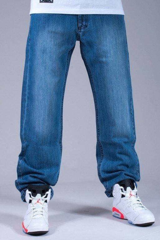 MASS SPODNIE JEANS BASE 14 FW BLUE