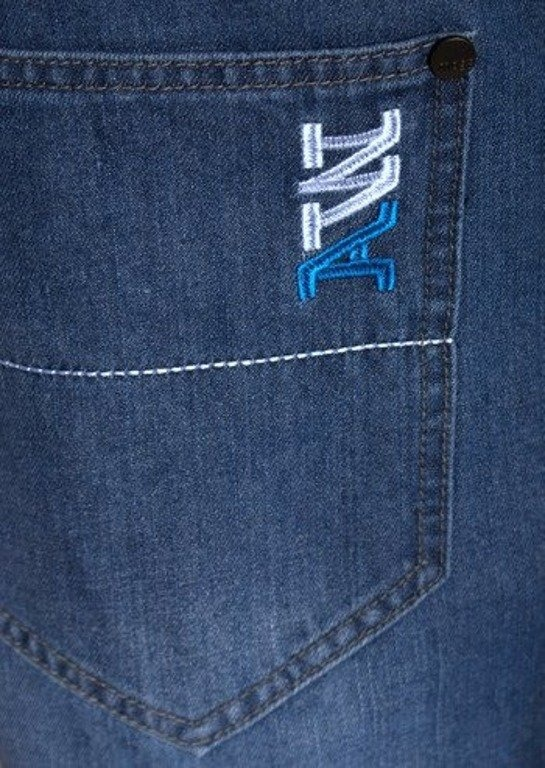 MASS SPODNIE JEANS COLLEGE BLUE