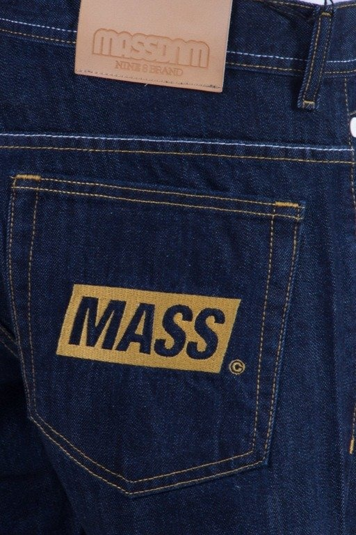MASS SPODNIE JEANS THREE D DARK