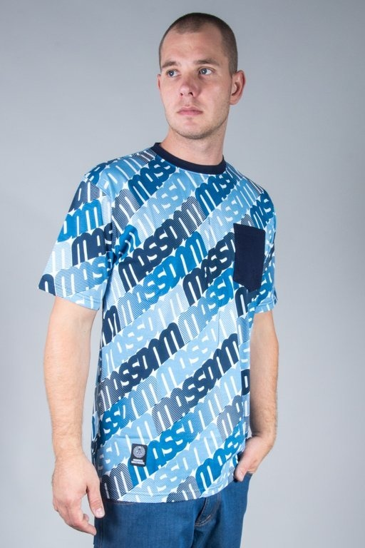 MASS T-SHIRT MULTIPLY NAVY