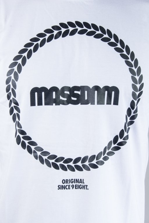 MASS T-SHIRT RING WHITE