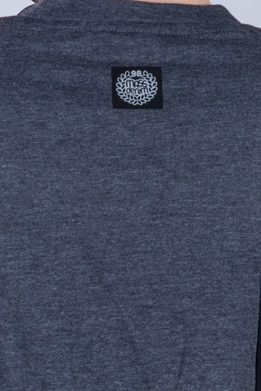 MASS T-SHIRTS LINES GREY