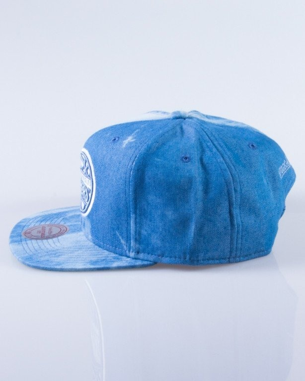 MITCHELL & NESS CZAPKA SNAPBACK EU129 LOS ANGELES CLIPPERS DYED DENIM
