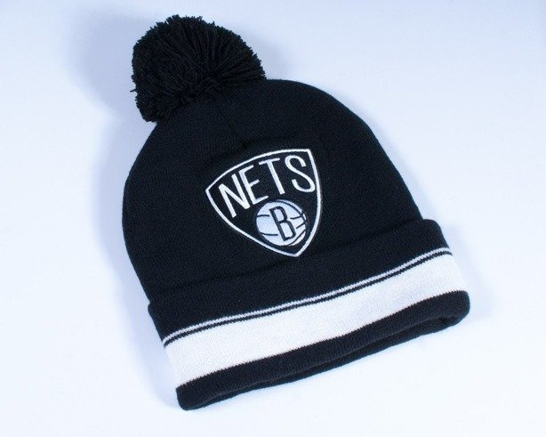 MITCHELL & NESS CZAPKA ZIMOWA KE31Z BROOKLYN NETS