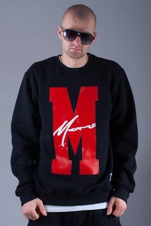 MORO BLUZA BEZ KAPTURA BIG M PARIS BLACK-RED