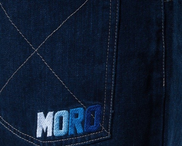 MORO SPODNIE JEANS CROSS DARK BLUE