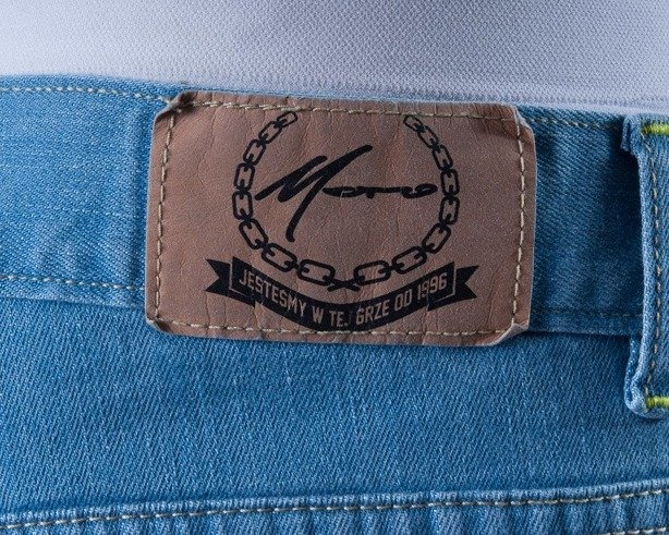 MORO SPODNIE JEANS PEEK 2013 LIGHT BLUE