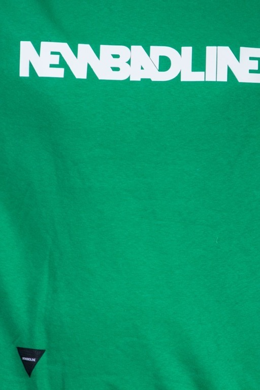 NEW BAD LINE BLUZA BEZ KAPTURA CLASSIC NEW GREEN
