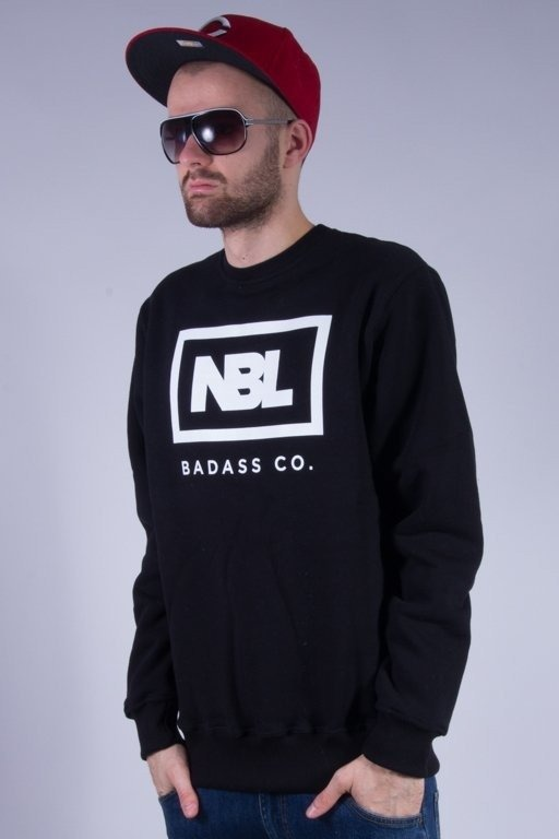 NEW BAD LINE BLUZA BEZ KAPTURA ICON BLACK