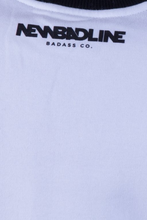 NEW BAD LINE BLUZA BEZ KAPTURA SWAG WHITE