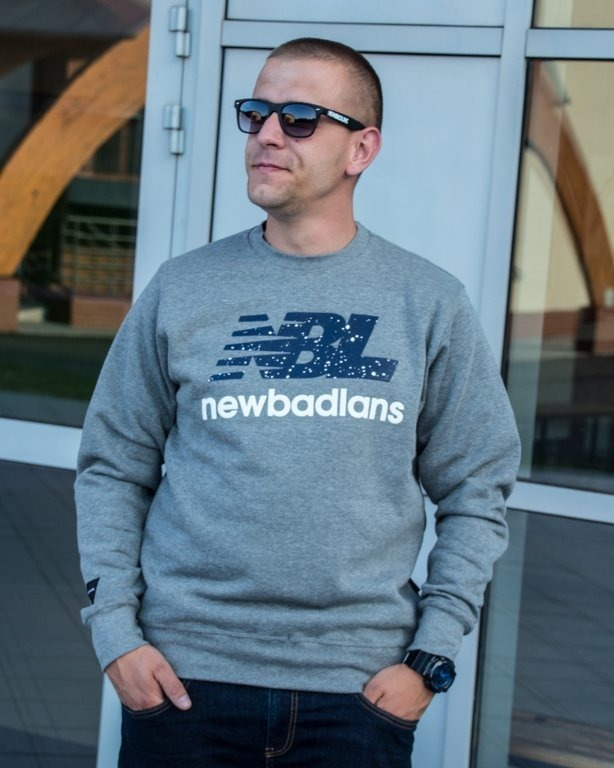 NEW BAD LINE CREWNECK NEWBADLANS GREY