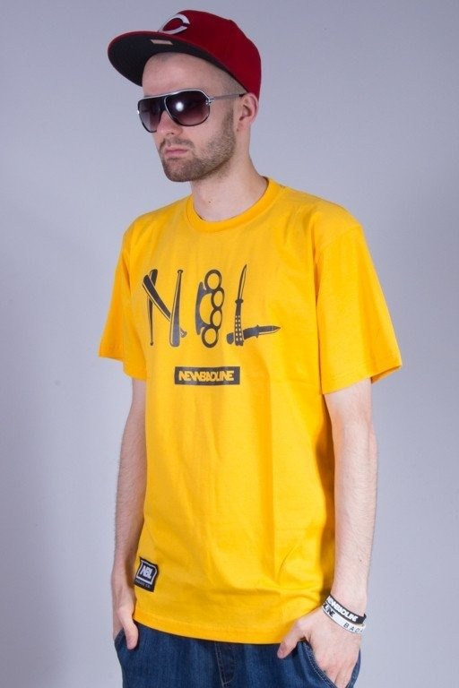 NEW BAD LINE KOSZULKA CRIME YELLOW