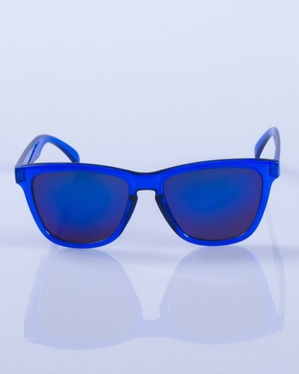 NEW BAD LINE OKULARY BLUE CLEAR 123