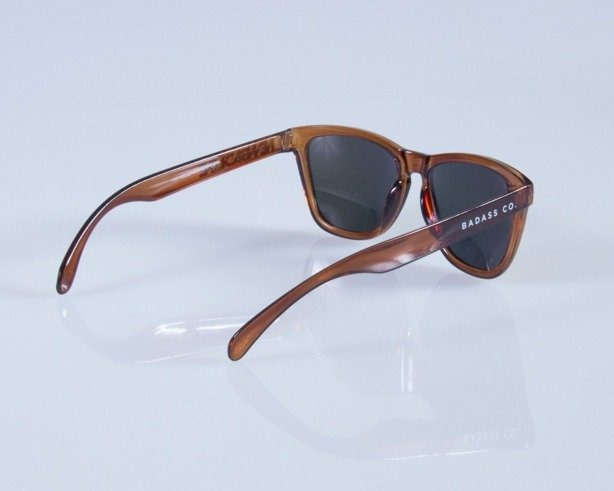 NEW BAD LINE OKULARY CLASSIC LADY BROWN CLEAR 116