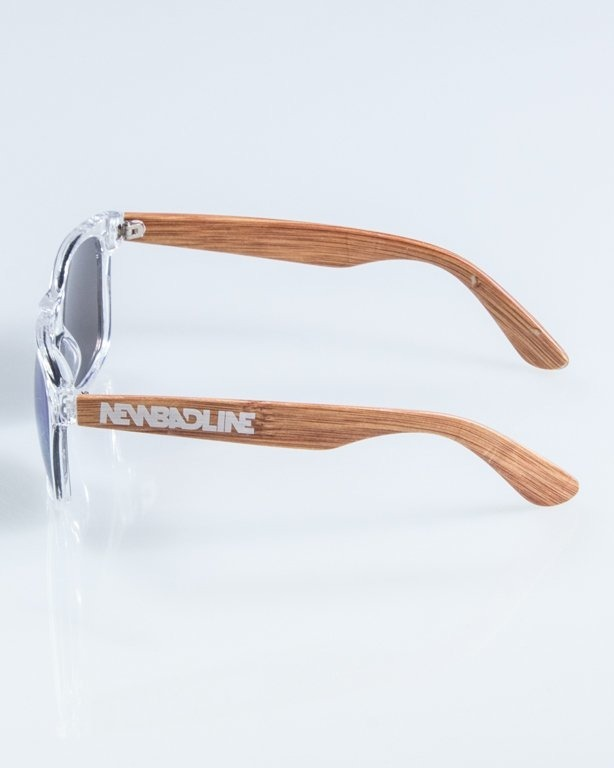 NEW BAD LINE OKULARY HALF WOOD 902