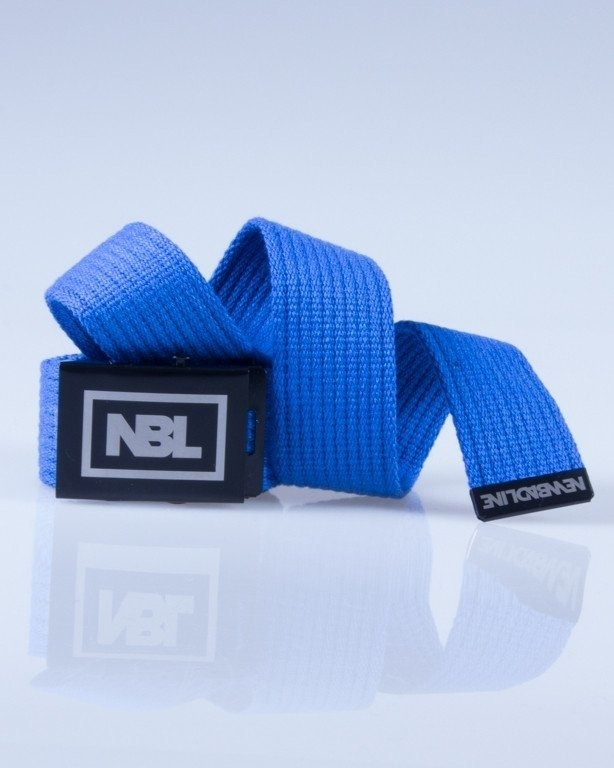 NEW BAD LINE PASEK PARCIANY BLUE