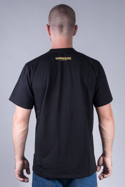 NEW BAD LINE T-SHIRT MARKER BLACK