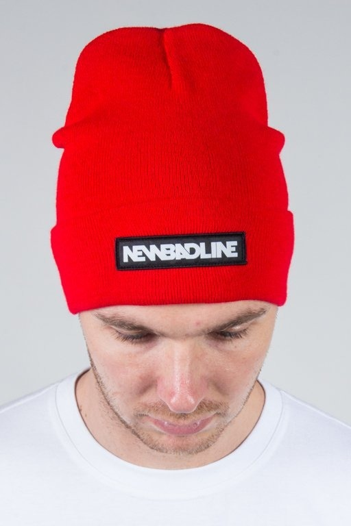 NEW BAD LINE WINTER CAP LOGO RED