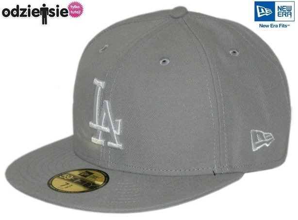 NEW ERA CZAPKA LA LOS ANGELES DODGERS GREY