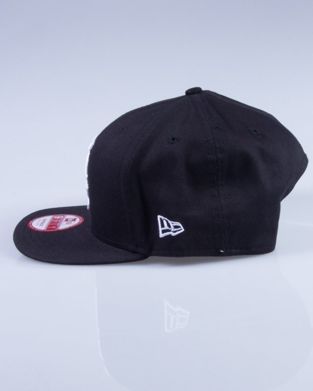 NEW ERA CZAPKA SNAPBACK MLB 9FIFTY BLACK