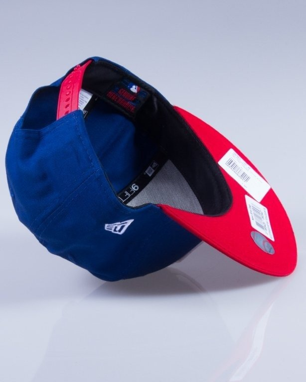 NEW ERA CZAPKA SNAPBACK MLB COTTON 10879531 NAVY-RED