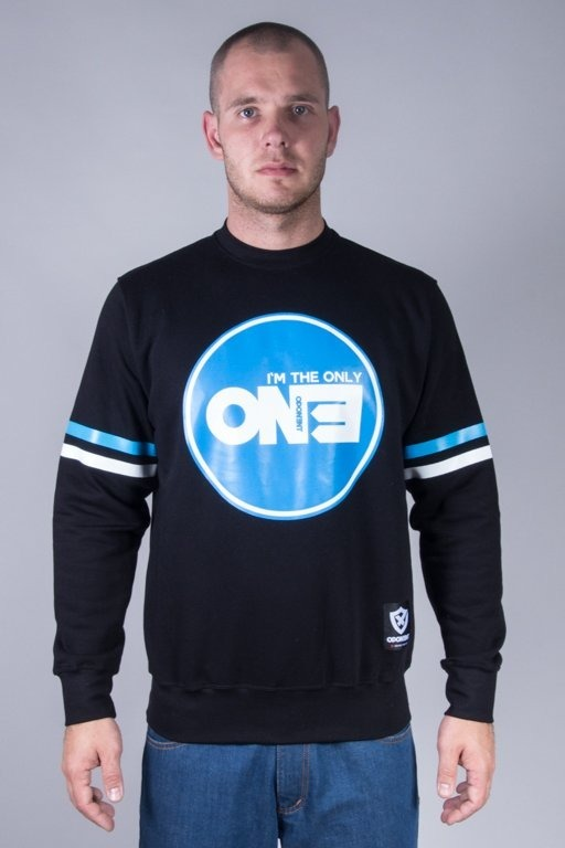 OPONENT CREWNECK ONLY ONE BLACK-BLUE