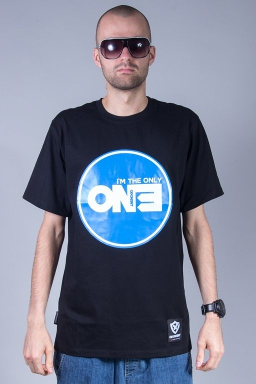 OPONENT T-SHIRT ONLY ONE BLACK-BLUE