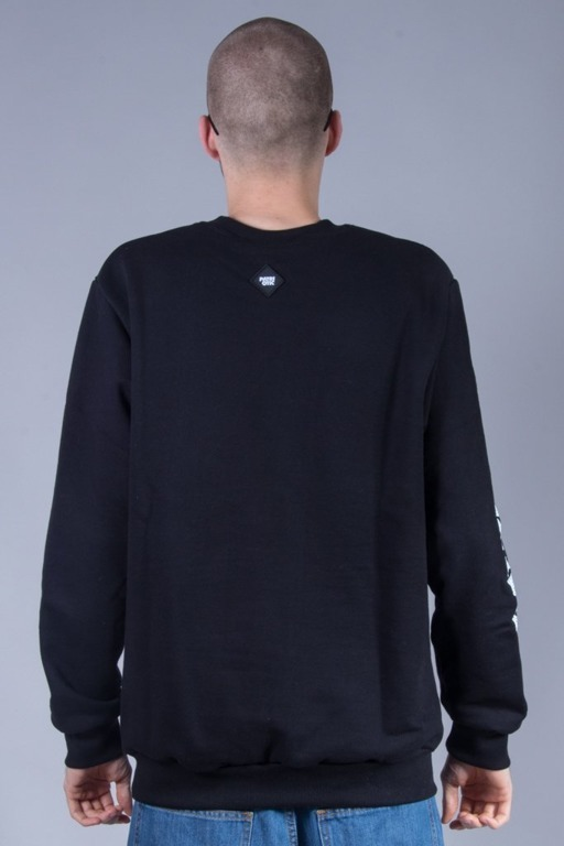 PATRIOTIC CREWNECK BRUSH BLACK